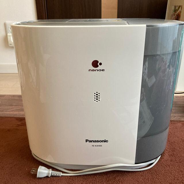 Panasonic(パナソニック)の気化式加湿器ナノイー Panasonic パナソニック+おまけ銀の力 スマホ/家電/カメラの生活家電(加湿器/除湿機)の商品写真