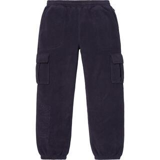 Supreme - 18fw 美品 紺 S supreme polartec cargo pant