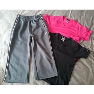 NIKE - 【3点セット】ナイキ トレーニングウェア グレー・ピンク・ブラック