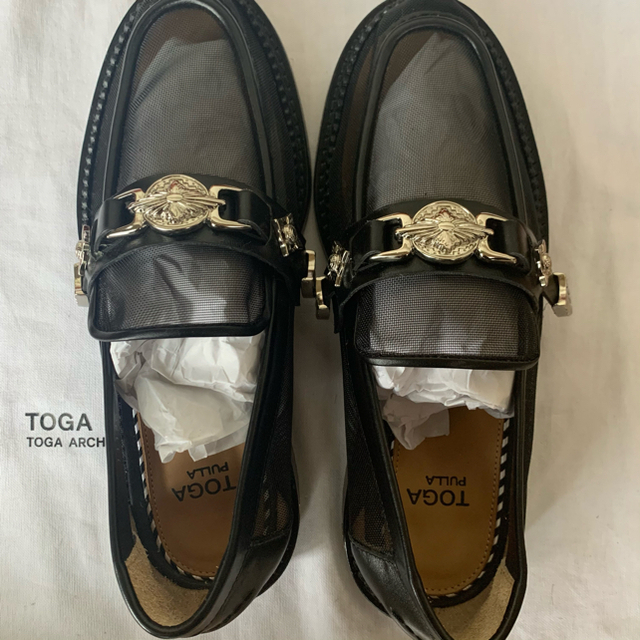 TOGA(トーガ)のTOGA PULLA ローファー レディースの靴/シューズ(ローファー/革靴)の商品写真
