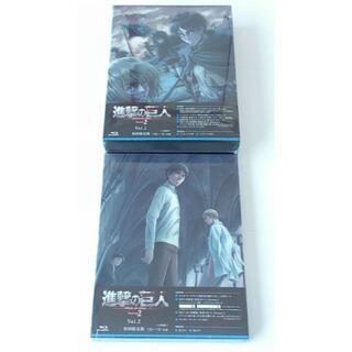 Blu-ray 進撃の巨人 Season2 初回版2巻セット