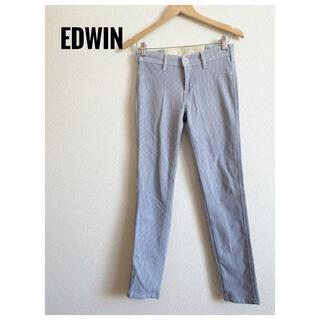 エドウィン(EDWIN)の【EDWIN】エドウィン パンツ ストレッチ 薄い青(カジュアルパンツ)