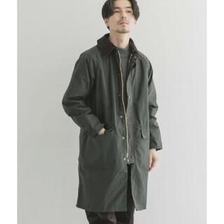 新品未開封! Barbour NEW BURGHLEY JACKET