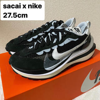 サカイ(sacai)の【27.5cm】SACAI X NIKE VAPORWAFFLE BLACK(スニーカー)