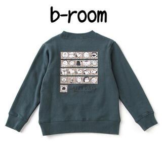 ナルミヤ インターナショナル(NARUMIYA INTERNATIONAL)の新品 b.ROOM スヌーピー スウェット(Tシャツ/カットソー)
