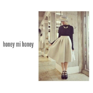 ハニーミーハニー(Honey mi Honey)のhoney mi honey ライトグレースカート(ロングスカート)