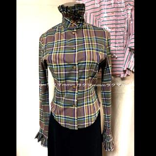 Vivienne Westwood - Vivienne Westwood 立ち襟 ブラウス《準備中 》
