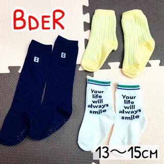 ベベ(BeBe)のベベ BdeR くつ下 3足セット(靴下/タイツ)
