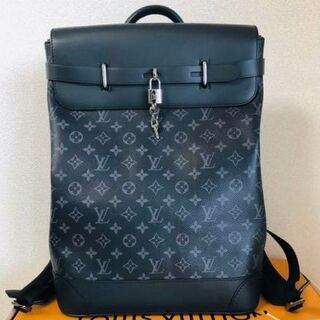 LOUIS VUITTON - 美品!ルイヴィトン リュック バックパック モノグラム エクリプス黒