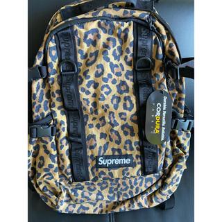 Supreme - supreme backpack 20FW leopard  リュック 豹柄
