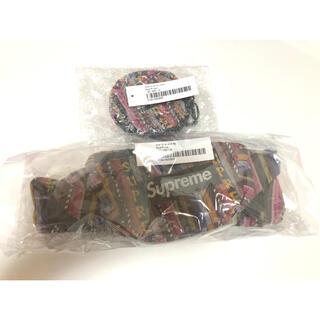Supreme - Supreme woven stripe waist bag coin case