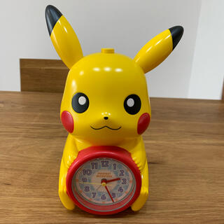 ポケモン - ピカチュウ 目覚まし時計