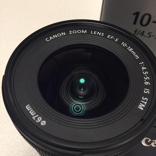 Canon(キヤノン)のCanon EF-S10-18 F4.5-5.6 IS STM 超広角レンズ スマホ/家電/カメラのカメラ(レンズ(ズーム))の商品写真