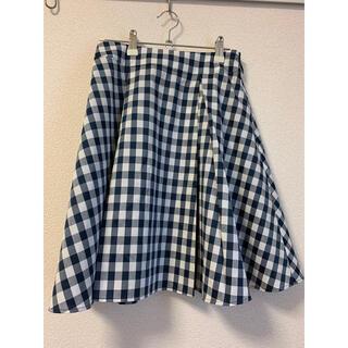 ファビュラスアンジェラ(Fabulous Angela)のギンガムチェック スカート(ひざ丈スカート)