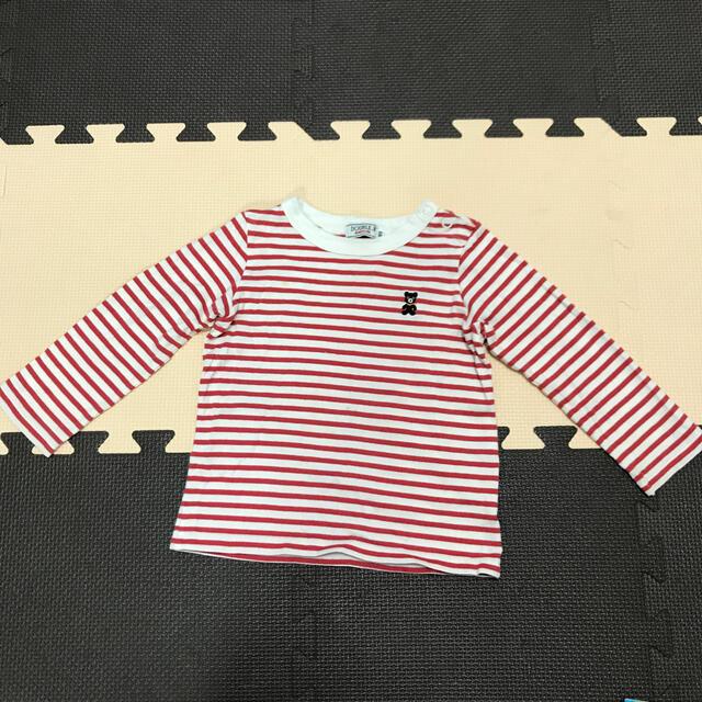 DOUBLE.B(ダブルビー)のダブルビー  長袖 キッズ/ベビー/マタニティのキッズ服男の子用(90cm~)(Tシャツ/カットソー)の商品写真
