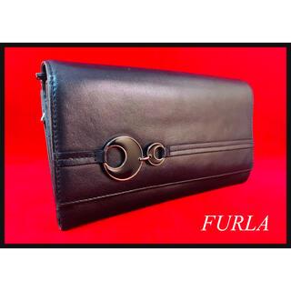 フルラ(Furla)の【美品】フルラ FURLA 財布 黒(財布)
