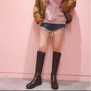 アールアンドイー(R&E)の美品♡R&E♡ミドルブーツ♡ロングブーツ♡ギャル♡美脚(ブーツ)
