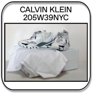 カルバンクライン(Calvin Klein)の特価_24.5cm:CalvinKlein205W39NYC リペイント 処理(スニーカー)