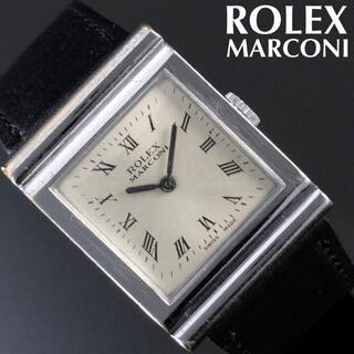 ROLEX - 即購入OK◎ザ・レクタンギュラー★ロレックス/ROLEX/マルコーニ/手巻き