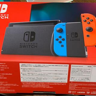 Nintendo Switch - Nintendo Switch ネオンブルー ネオンレッド 中古