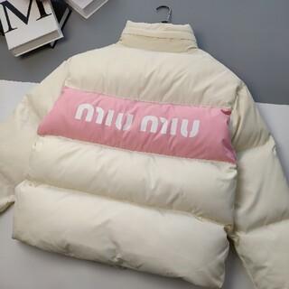 miumiu - 美品Miu Miu ミュウミュウ ダウンジャケット レディース