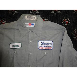 ワコマリア(WACKO MARIA)の値下げ可能!Sears ワークシャツ  シャツ ジャケット 半袖シャツ(シャツ)