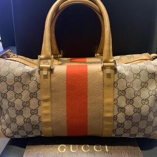 グッチ(Gucci)の人気☆ 正規品GUCCI  グッチ  ボストンバック(ボストンバッグ)