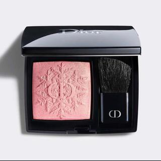 Christian Dior - ディオール 353 チーククリスマス ホリデー限定品スキン ルージュ ブラッシュ