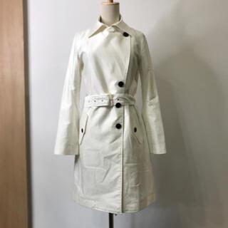 ダブルスタンダードクロージング(DOUBLE STANDARD CLOTHING)のダブルスタンダードクロッシング スプリングコート トレンチコート ホワイト(スプリングコート)