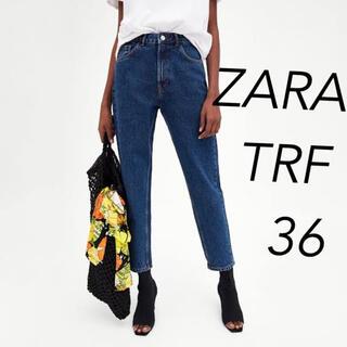 ザラ(ZARA)のZARA TRF クラシック ハイライズ マムフィットデニム 36(デニム/ジーンズ)