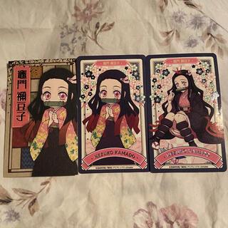 BANDAI NAMCO Entertainment - 竈門禰豆子 鬼滅の刃 namco限定 レア シール カード セット