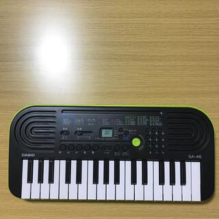 カシオ(CASIO)の(96)casio mini keyboard SA-46(電子ピアノ)