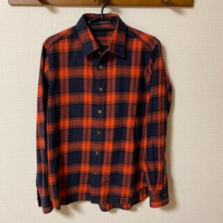 トゥモローランド(TOMORROWLAND)のトゥモローランド チェックシャツ M(シャツ)