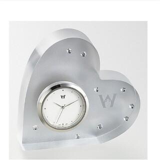 ウェッジウッド(WEDGWOOD)のウェッジウッド 置き時計 ハート(置時計)