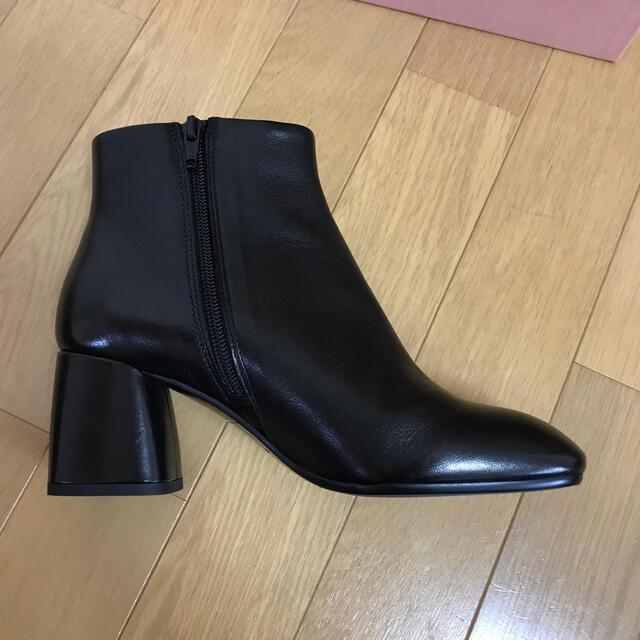 FABIO RUSCONI(ファビオルスコーニ)の試着のみ!ファビオルスコーニ ショートブーツ 37 レディースの靴/シューズ(ブーツ)の商品写真