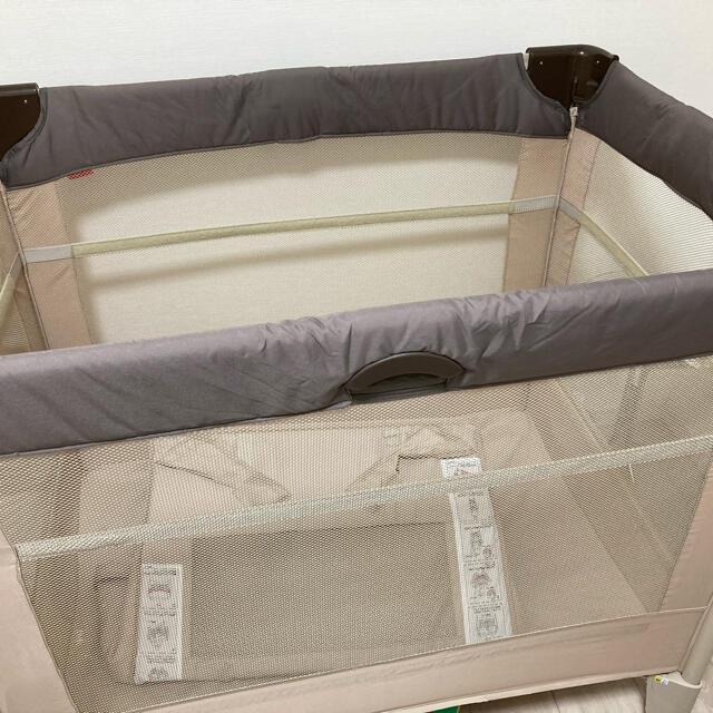 Aprica(アップリカ)のココネルエアー ベビーベッド  キッズ/ベビー/マタニティの寝具/家具(ベビーベッド)の商品写真