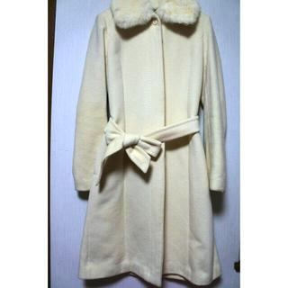 プロポーションボディドレッシング(PROPORTION BODY DRESSING)のプロポーション アンゴラホワイトコート(ロングコート)