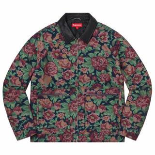 Supreme - Supreme leather collar work jacket 20aw