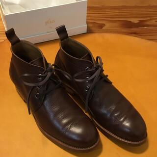 ショセ(chausser)のショセ chausser チャッカ ブーツ こげ茶 24 38 靴 シューズ(ブーツ)
