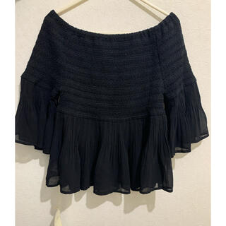 アルバローザ(ALBA ROSA)のRougeDiamant ブラック七分丈チュニック(Tシャツ(長袖/七分))