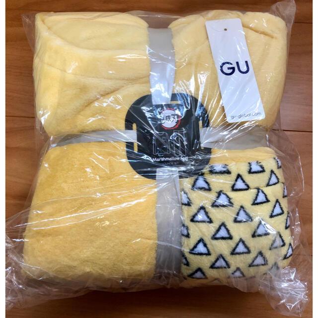 GU(ジーユー)の我妻 善逸 ルームウェア S GU 鬼滅の刃 メンズのメンズ その他(その他)の商品写真
