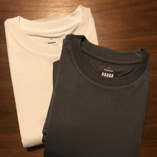1LDK SELECT - Graphpaper 2-Pack Tee GRAY&WHITE 4