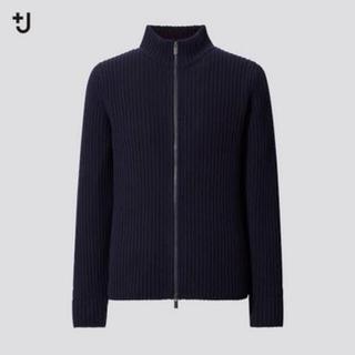 Jil Sander - UNIQLO+J ミドルゲージリブフルジップセーター