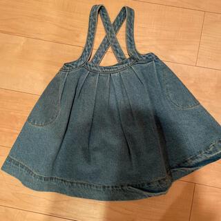 Caramel baby&child  - the simple folk デニムスカート ワンピース 90cm