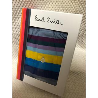 ポールスミス(Paul Smith)の新品 ポールスミス トランクスパンツ M アンダーウェア ボーダー ボーダー(トランクス)