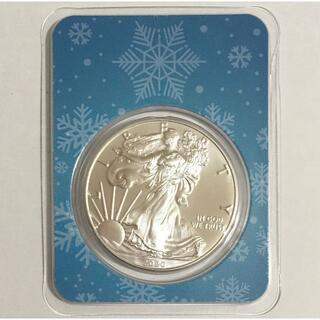 2020 イーグル銀貨1オンス クリスマス特別バージョン「雪の結晶」(貨幣)