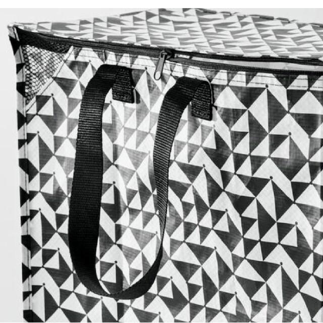 IKEA(イケア)のイケア人気新品IKEA クナラ エコバッグ 収納袋 トートバッグ ♪大容量バッグ インテリア/住まい/日用品の収納家具(ケース/ボックス)の商品写真