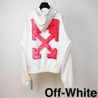 OFF-WHITE - 新品 Off-White Marker Pen Arrows hoodie