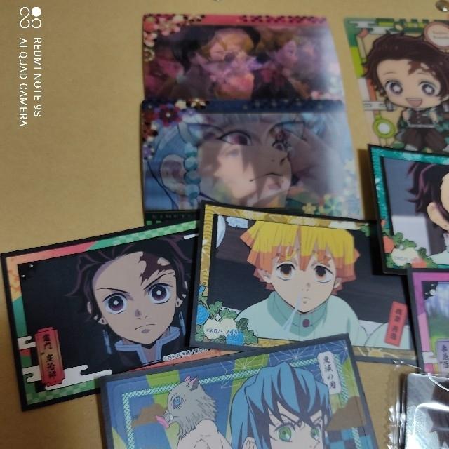 鬼滅の刃  デコステッカー等おまとめセット13枚 エンタメ/ホビーのアニメグッズ(カード)の商品写真