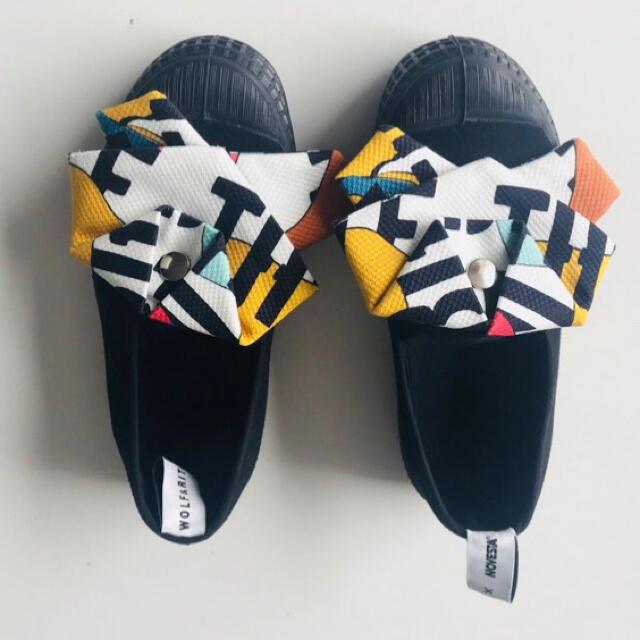 こどもビームス(コドモビームス)の新品 レア Wolf&Rita ウルフアンドリタ スニーカー スリッポン 25 キッズ/ベビー/マタニティのキッズ靴/シューズ(15cm~)(スリッポン)の商品写真